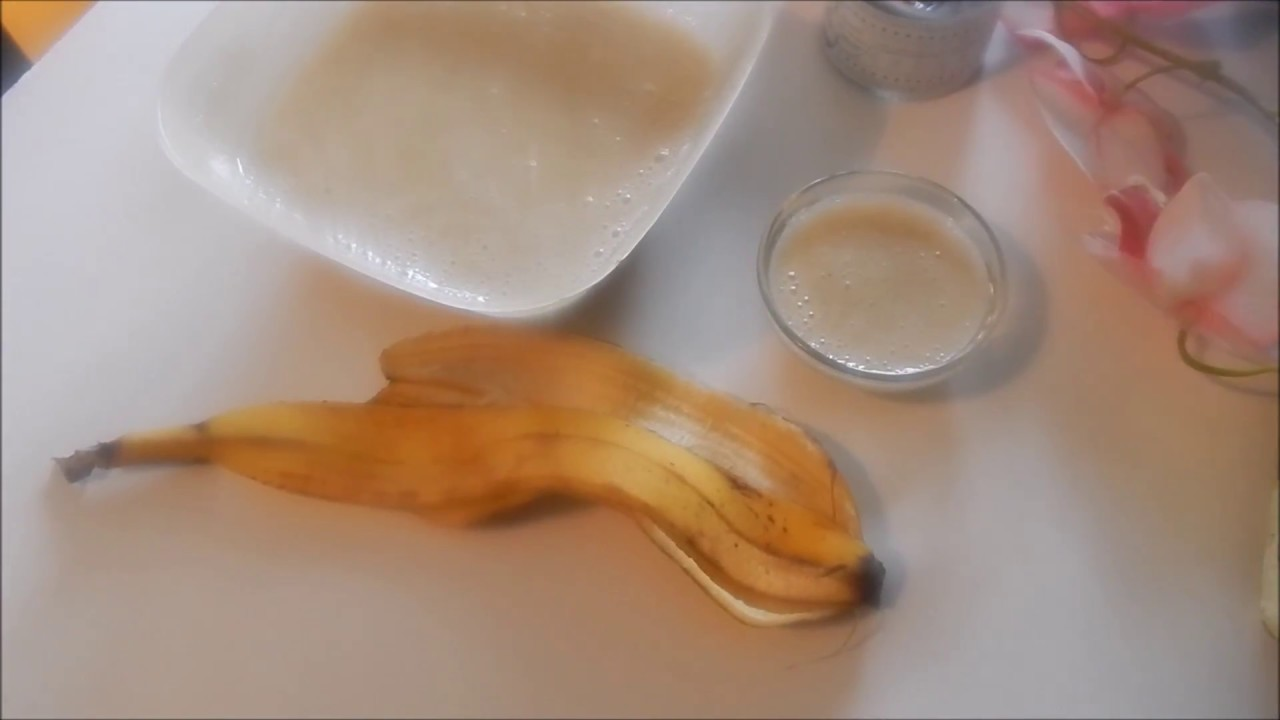 masque hydratant fait maison pour cheveux et visage banane miel vinaigre huile d 39 olive. Black Bedroom Furniture Sets. Home Design Ideas