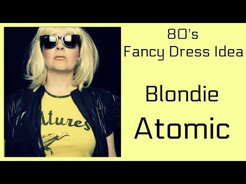 80's Fancy Dress Idea - Blondie Atomic