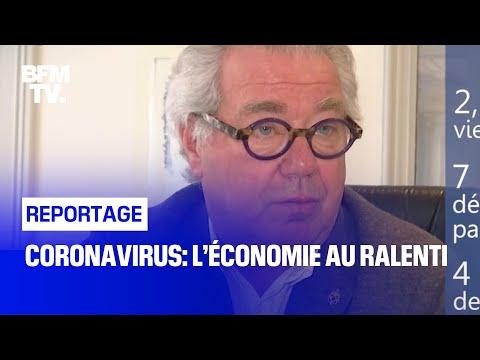 Coronavirus: l'économie au ralenti