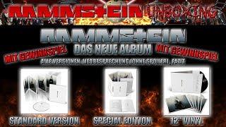 RAMMSTEIN - DAS NEUE ALBUM -  ALL EDITIONs, SONGs