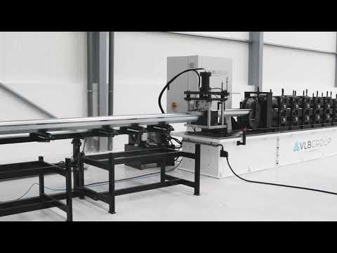 Perfiladora de chapa RF16 linha automática de perfilagem VLB Group Roll forming lines
