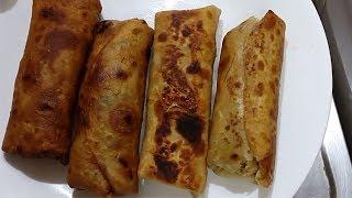 बची हुई रोटी से बनाये वेज स्प्रिंग रोल्स | spring roll step by step with  leftover chapati