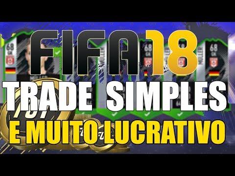 FIFA18 TRADE SIMPLES E MUITO LUCRATIVO