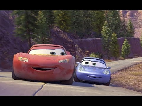 Cars 2006 Mcqueen And Sally Scene 1080p Youtube