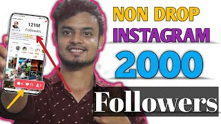 PERMANENT instagram FOLLOWERS free | How to increase instagram Followers 2020