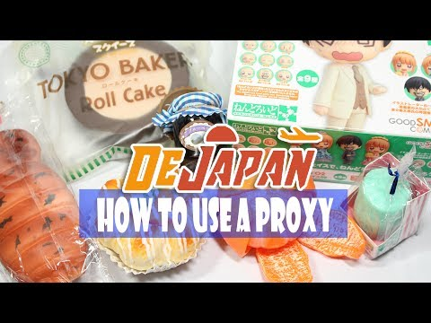 Using a PROXY to buy Squishies + Anime Goods! DeJapan Proxy REVIEW | Squishy Package #27