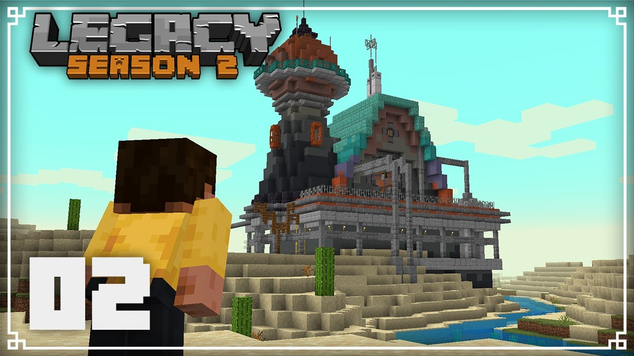 Legacy SMP 2   Building my Starter House!    Minecraft 1.16 Survival Multiplayer