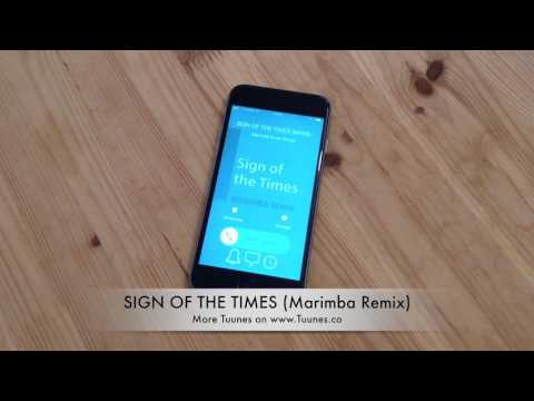 Sign of the Times Ringtone (Harry Styles Marimba Tribute Remix Ringtone) • For iPhone & Android