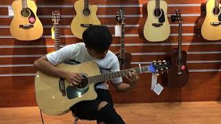 Depasito fingerstyle | Takamine GD51CE
