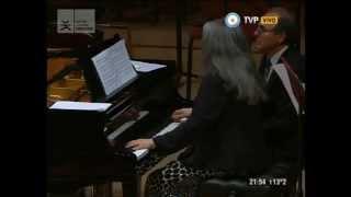 Martha Argerich y Eduardo Hubert Oblivion