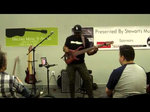 Musicians United 2016 - Andrew Gouche' Bass Clinic