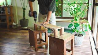 朝の時間/植物の家を作る/買ってきた食材を紹介/ニンニク低温調理/野菜うどん#209