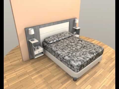 jorge bella dise o respaldar sommier youtube. Black Bedroom Furniture Sets. Home Design Ideas