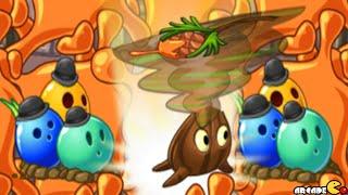 Plants Vs Zombies 2: Sap-Fling & Bowling Bulb!