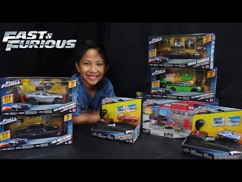 Mattel Fast & Furious Big Box Toy Unboxing!!!