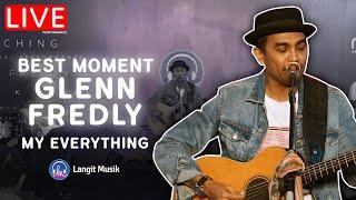 Download MOMEN GLENN FREDLY BERSAMA LANGIT MUSIK - MY EVERYTHING | LIVE PERFORMANCE AT LET'S TALK MUSIC