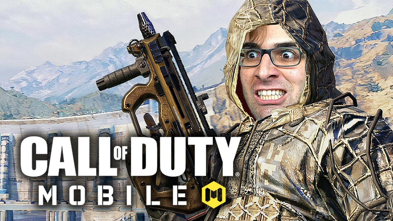 CALL OF DUTY MOBILE - Battle Royale tá com MAPA NOVO! | Blackout Gameplay