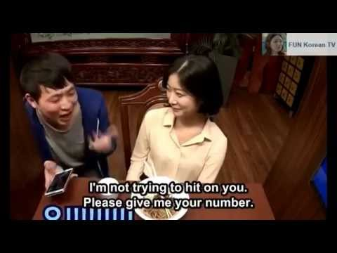 Fun Korean Restaurant for Singles - Date Prank
