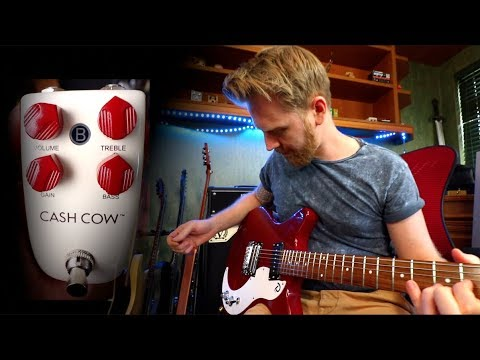 Modern High Gain Tones From Danelectro - Cash Cow & D59X