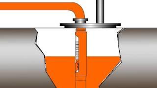 Клапан отсечной от www.azs-atris.ru - принцип работы устройства.(Клапан отсечной поплавковый двухступенчатый КО 2-80 ПС ..., 2014-01-29T19:28:36.000Z)