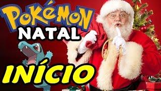 Pokémon Christmas (Natal - Hack Rom) - O Início