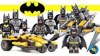 New BATMAN Batsuit Arkham Knight Batman Beyond & Damian Wayne Unofficial LEGO Minifigures