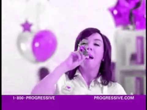 Progressives Flo Is Blowin Gas Youtube