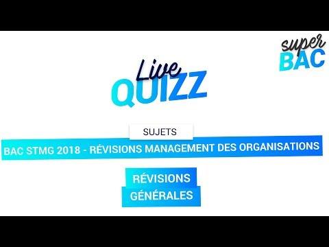 Bac STMG 2018 - Révisions de Management des Organisations : Notions importantes à connaître