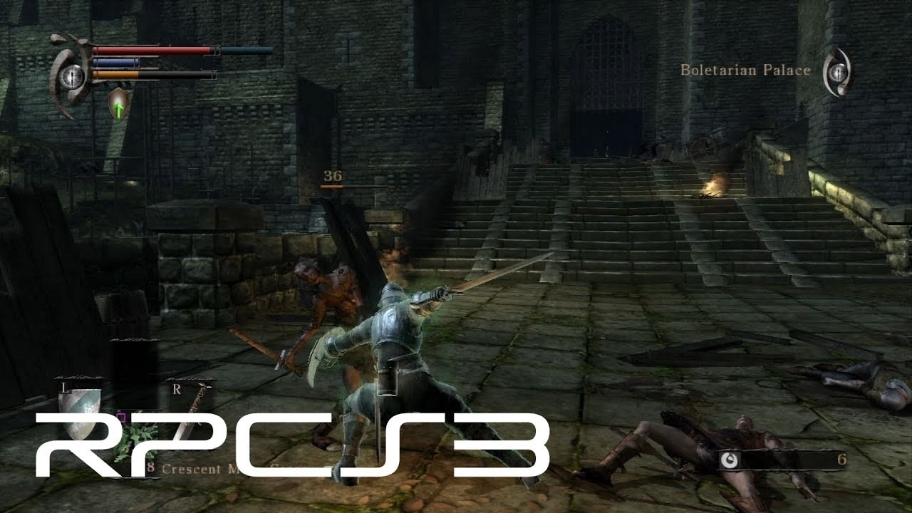 Here's Demon's Souls running in the RPCS3 PS3 emulator | PC
