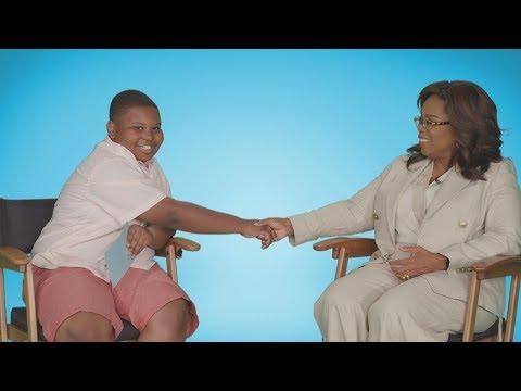 J. Cortez - Kid Reporter Jaden interviews Oprah