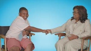 Oprah Gets Interviewed by Kid Reporter Jaden - Extended Cut