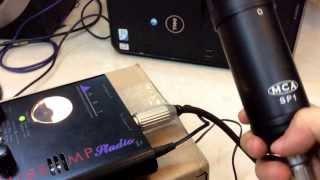 Nguyenkts.com hướng dẫn kết nối PreAmp micro với audio interface (sound card)