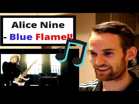 ALICE NINE REACTION!!! (Blue Flame)