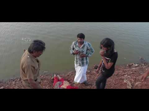 Kannada Horror Scenes | Lady is killed by devil | Bhayanaka Kannada Movie