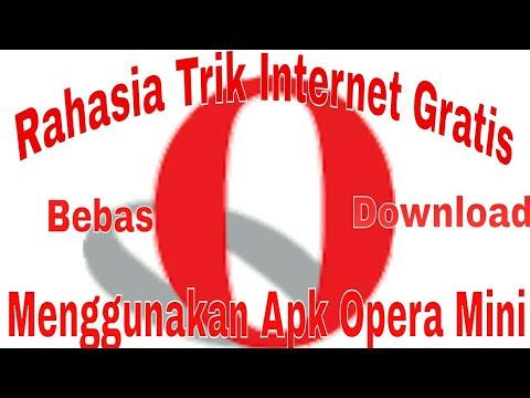 Wow Ini Dia Rahasia Internet Gratis Pake Apk Opera Mini 1000% work All tkp