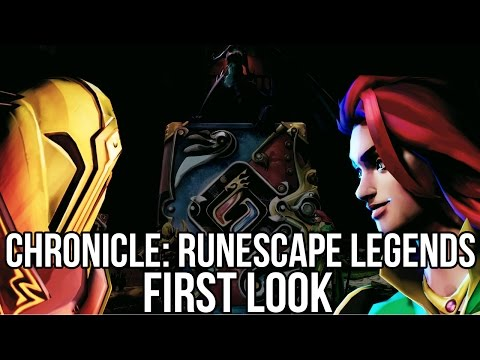 Chronicle: RuneScape Legends (Free Online TCG): Watcha Playin'? Gameplay First Look