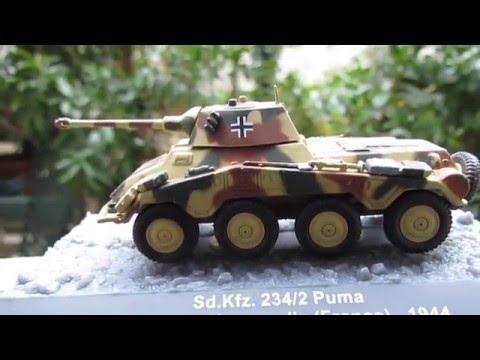 Nordland Pz Die cast 1//72 Modellino Autoblindo 234//2 Puma 11.SS-Fr Div Gren