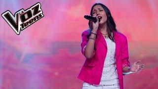 Naty 'La Marquéz' canta 'Te hubieras ido antes' | Audiciones a ciegas | La Voz Teens Colombia 2016