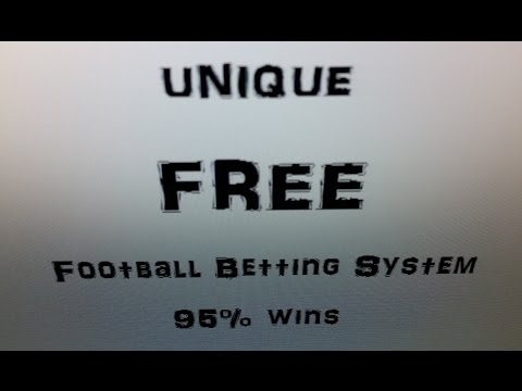 Unique FREE Football Betting System ! 95% wins