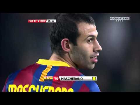 barcelona vs real sociedad La Liga 12-12-2010 full match 720