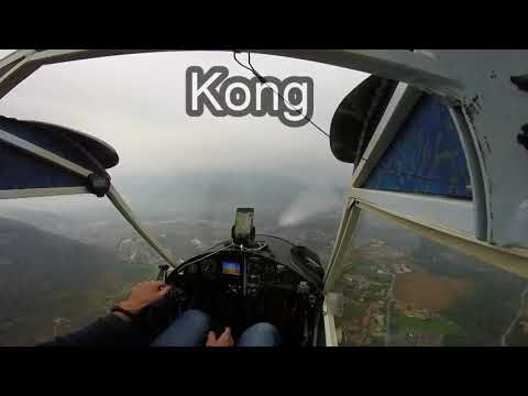Aereo Groppo Dui 582    Air Folies     Cogliate     Kong