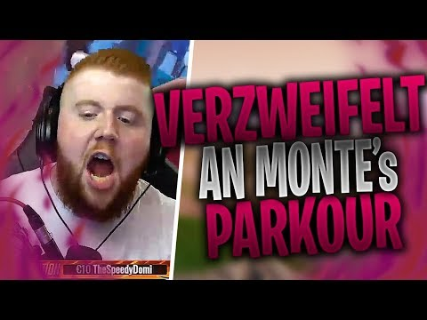 MCKY verzweifelt an MONTE's & STEEL's PARKOUR | FIXX rasiert in Paradise Palms | Fortnite Highlights