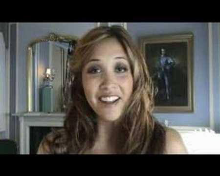 Myleene Klass Video Blog