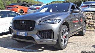Jaguar F-Pace V6 3.0 S Exhaust Sound - OnBoard Ride, Start Up & Revs!