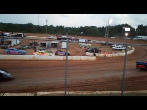 We went to the races at Cochran motor speedway