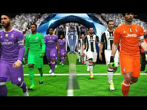 PES 2017 | Juventus vs Real Madrid | Final UEFA Champions Le