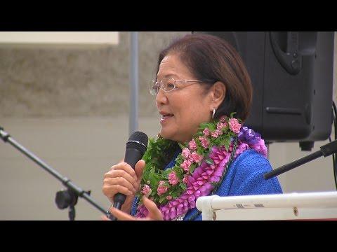 Mazie Hirono - Democratic Grand Rally (Nov. 7, 2016)