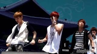 [full fancam] 110528 SHINee Taemin - Lucifer @ Walking Festival