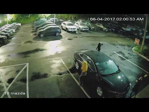 Car Dealership Thieves Caught In The Act. 6/4/17