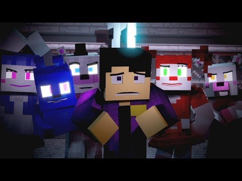 """""""Nightmare by Design""""   FNAF Minecraft Music Video   3A Display (Song by TryHardNinja)"""